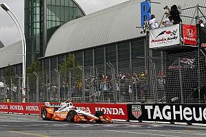 IndyCar Reporte de la carrera Newgarden supera Rossi y vence en Toronto; Gutiérrez termina en 14