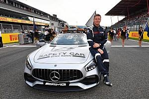 Il mio lavoro in F1… Pilota della Safety Car per la FIA