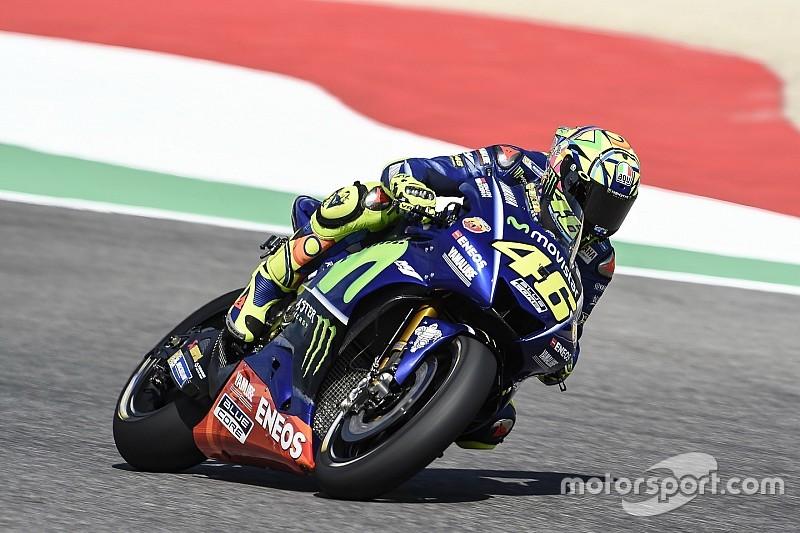 Травмированный Росси возглавил третью тренировку Гран При Италии