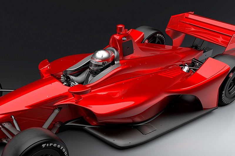 IndyCar to test new driver head protection on 2018 car