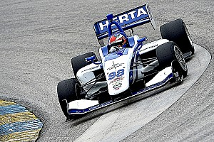 Indy Lights Qualifying report Barber Indy Lights: Herta on pole after qualifying rainout