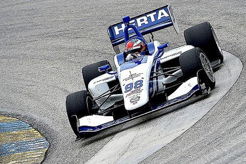 Colton Herta termine les derniers essais Indy Lights en tête