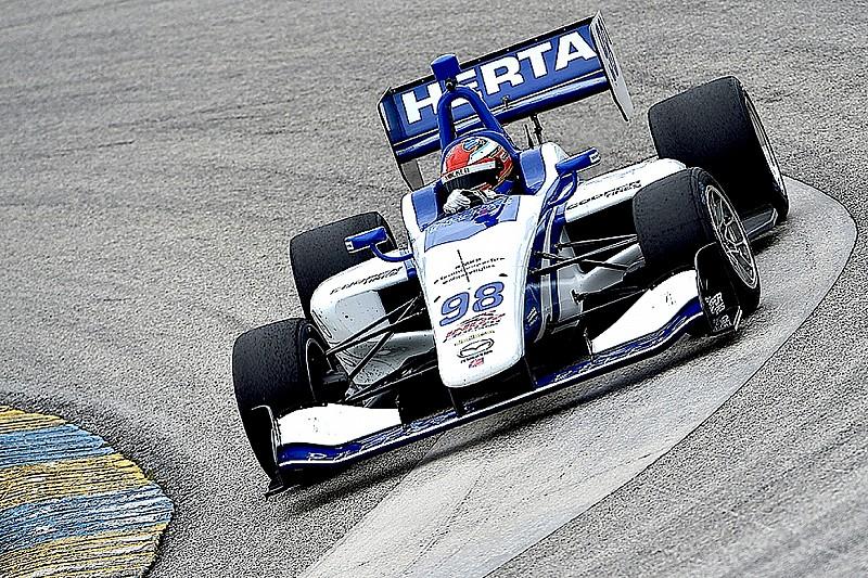 Barber Indy Lights: Herta en la pole para la segunda carrera