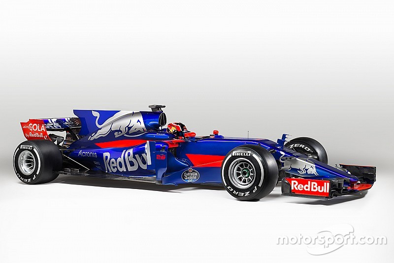 Toro Rosso reveals new-look STR12 car