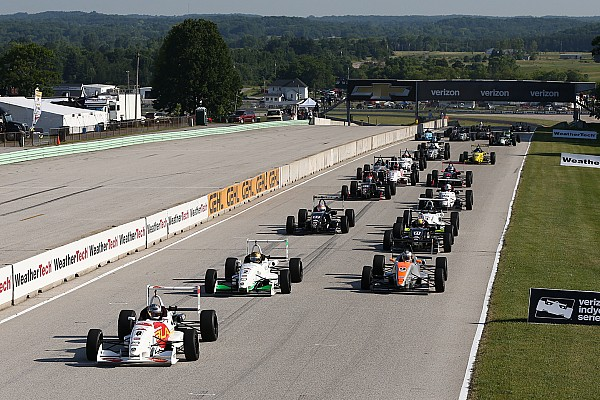 Motorsport.com's Top 10 Mazda Road To Indy drivers of 2016