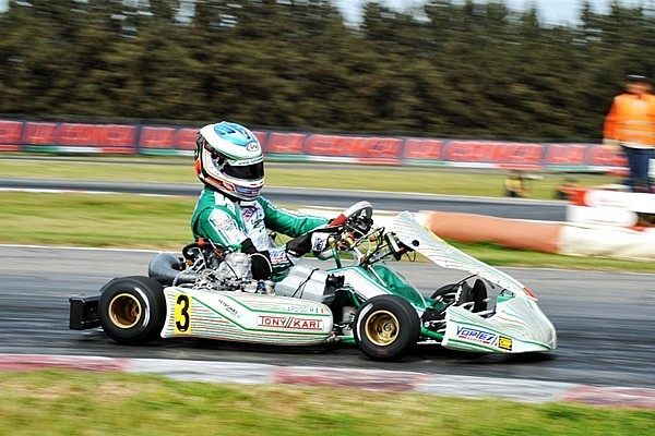 Ardigo beats Iglesias to win first race of European KZ championship