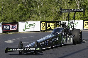 NHRA Qualifying report B. Force, C. Force and Enders lead qualifying friday at New England Nationals