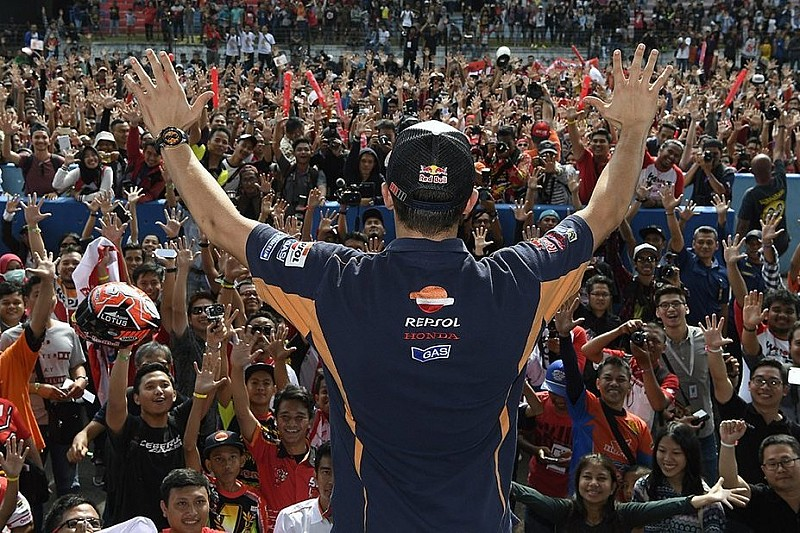 Marquez, Rossi dan Vinales bicara soal MotoGP Indonesia