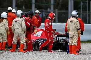 F1 Noticias de última hora Al sexto día, el rojo Ferrari fue gris