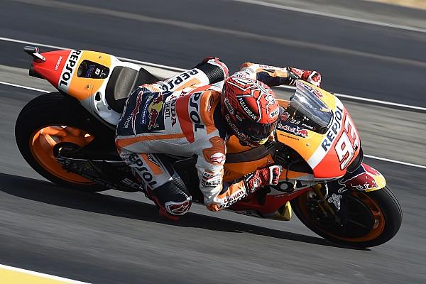 MotoGP Test Marquez precede Lorenzo nei test privati di Barcellona