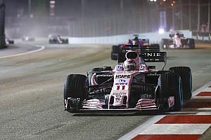 Formel 1 News Sergio Perez: Force India war für die F1 2018 meine beste Option