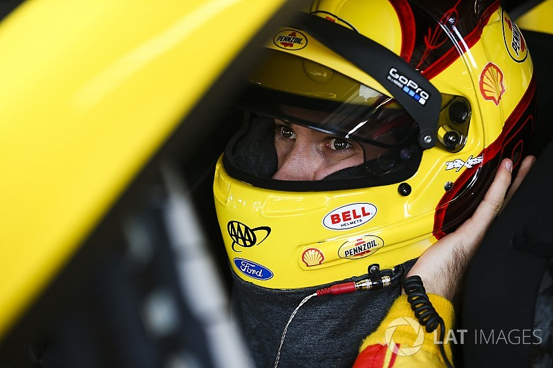 """Logano: Final practice penalty """"makes our sport look dumb"""""""