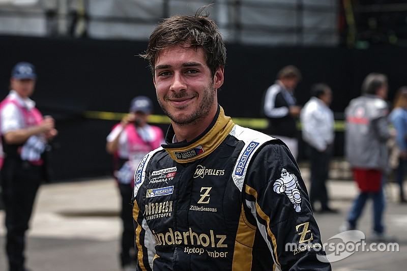 Bahrain F3.5: Binder takes last pole of championship