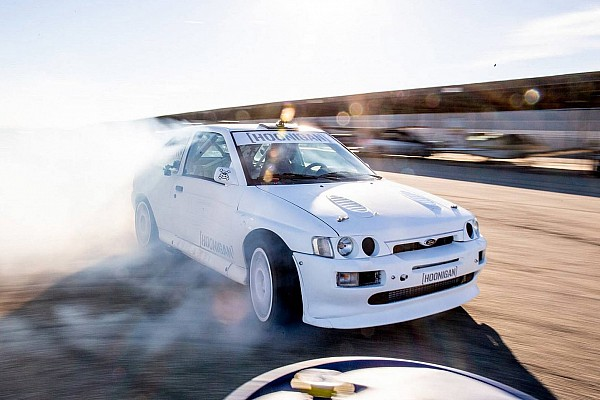 Automotive Ford Escort RS Cosworth rally car is Ken Block's new WRC toy