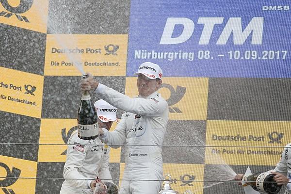 DTM Yarış raporu Nurburgring DTM: Wickens 2. yarışı kazandı, Auer spin attı
