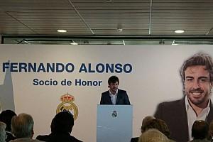 F1 Noticias de última hora Fernando Alonso, nombrado Socio de Honor del Real Madrid