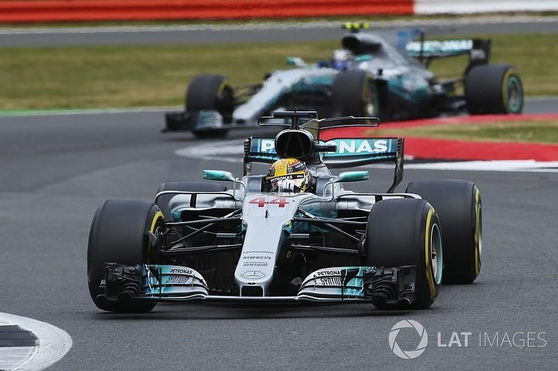 """【F1】メルセデス、イギリスGP""""制圧""""にも油断せず「慢心はしたくない」"""