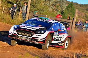 WRC Etappeverslag WRC Argentinië: Evans aan de leiding na eerste dag