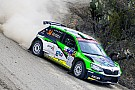 Benito Guerra al via del Rally di Catalogna con il team Motorsport Italia