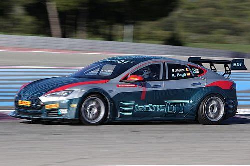 Balap GT elektrik berbasis mobil Tesla dapat persetujuan FIA