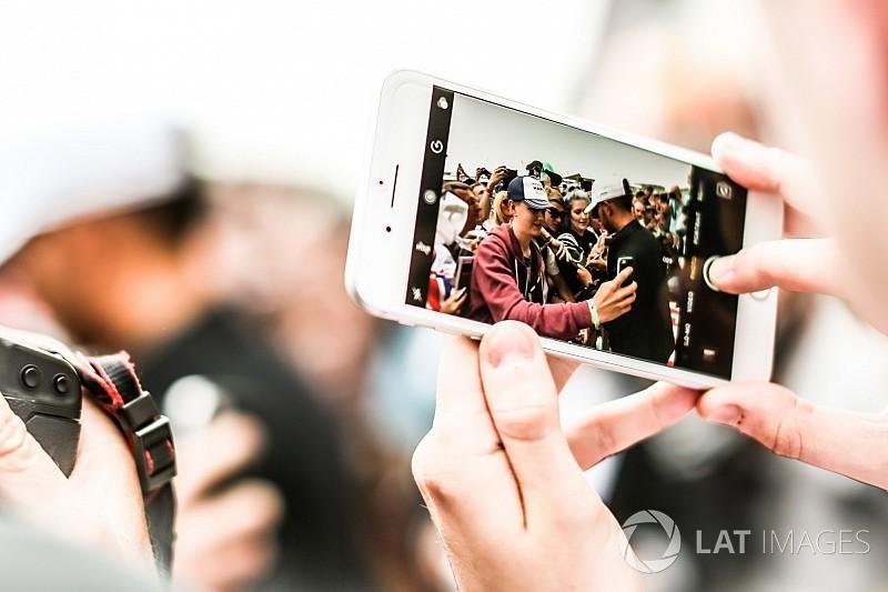 """Symonds: La F1 n'est """"nulle part"""" sur les réseaux sociaux"""