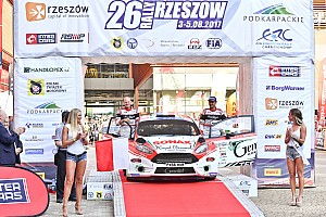 ERC Gara Bouffier vince il Rally Rzeszow, Kajetanowicz è il nuovo leader
