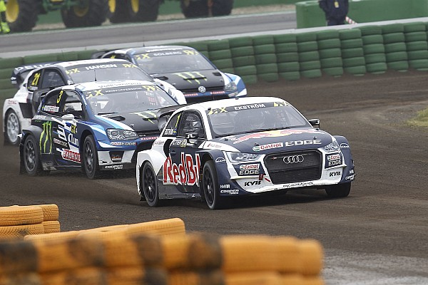World Rallycross Reporte de la carrera Tercera victoria consecutiva de Ekstrom en el WRX