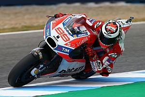 MotoGP News Jorge Lorenzo nach P8 im Jerez Qualifying: Winglets fehlen!