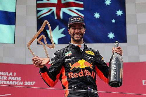 "Ricciardo: ""Earned"" Austria podium more satisfying than Baku win"