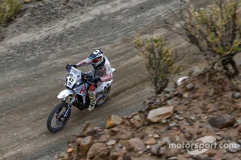 Dakar 2017, Stage 7: Santosh improves, TVS Sherco riders have steady run