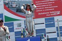 Carlotta Fedeli svetta a Vallelunga vincendo un'incredibile Gara 2