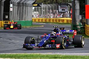 Formule 1 Réactions Toro Rosso a le sourire mais Sainz reste sur sa faim