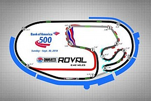 New road course among changes to 2018 NASCAR schedules