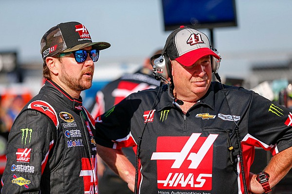 NASCAR Cup Breaking news Tony Gibson welcomes change at SHR as he comes off the road