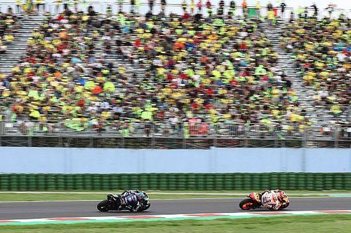 Márquez asegura que la presencia de Rossi se mantendrá en las pistas