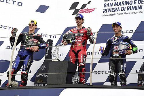 Estado del campeonato de MotoGP tras el GP de San Marino