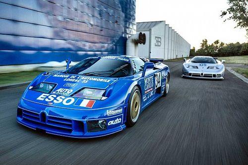Bugatti EB110, le due speciali che corsero a Le Mans e Daytona