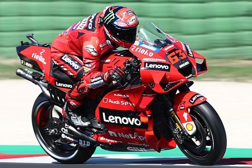 Misano MotoGP test: Bagnaia tops opening day despite crash