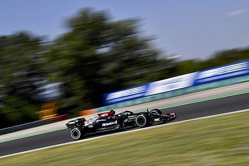 Hungarian GP: Bottas quickest from Hamilton in second practice