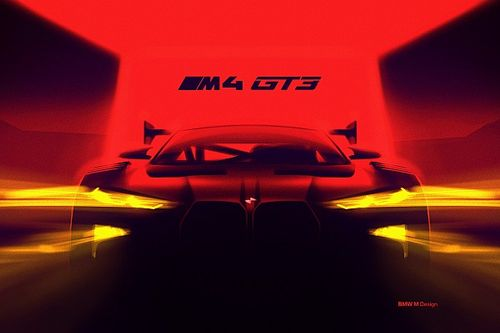 BMW reveals teaser image of all-new M4 GT3