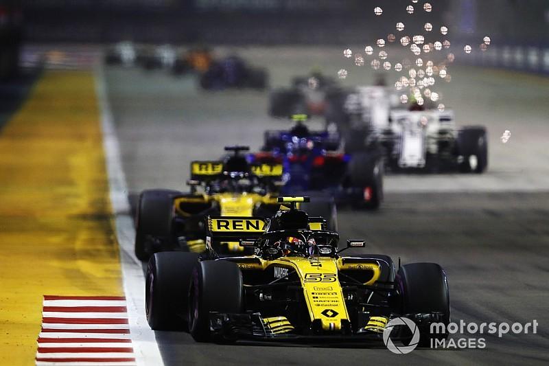 Renault, tras Singapur, sabe que sufrirá para ser cuarto