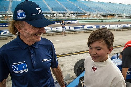 Emerson Fittipaldi Jr makes F4 test debut at Homestead