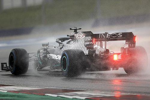 Hamiltont is lenyűgözte a közel tökéletes köre a Stájer Nagydíjon az esőben