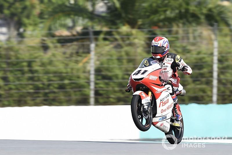 FP1 Moto3 Valencia: Atiratphuvapat terdepan, banyak pembalap tersungkur