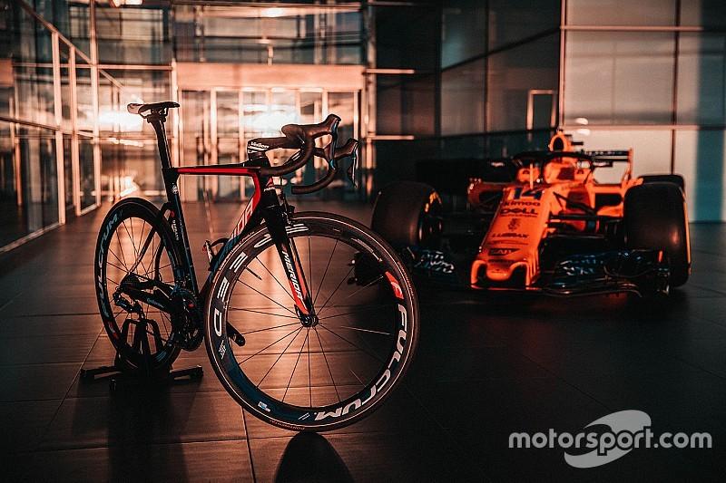 McLaren anuncia parceria com time de ciclismo