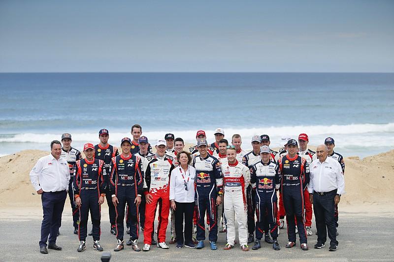 Galería: los pilotos y copilotos ganadores de los premios del WRC 2018