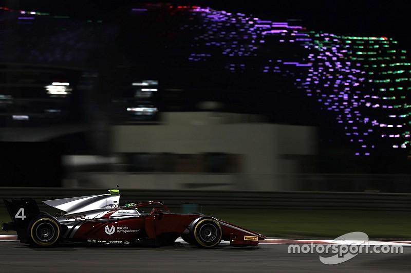 FIA F2, Test Abu Dhabi, Giorno 2: Mick Schumacher brilla alle spalle di Correa