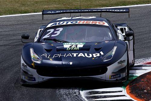 Элбон одержал первую победу в гонке DTM