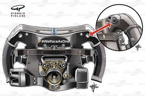 Mercedes: ecco come è stato modificato il brake magic