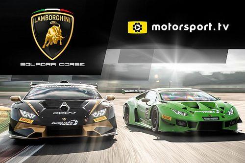 Lamborghini Squadra Corse lance sa chaîne sur Motorsport.tv